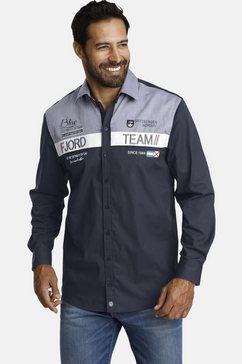 jan vanderstorm overhemd met lange mouwen »baldur« blauw