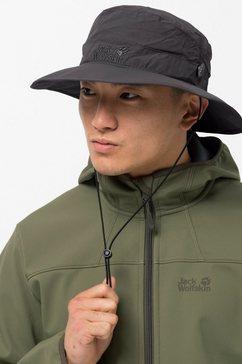 jack wolfskin outdoorhoed »supplex mesh hat« grijs