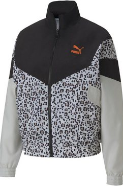 puma trainingsjack »tfs track jacket aop woven« zwart