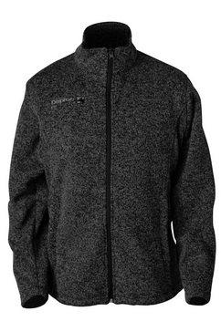 deproc active tricot-fleecejack »elkford men« grijs