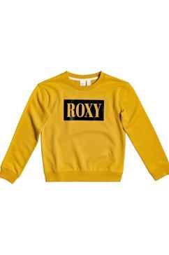 roxy sweatshirt »spring day« geel