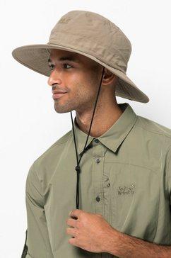 jack wolfskin outdoorhoed lakeside mosquito hat beige