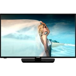 telefunken »d43f550b1cw« led-tv zwart