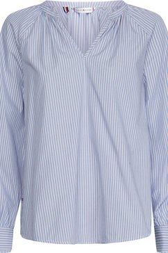 tommy hilfiger blouse zonder sluiting blauw