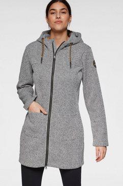 g.i.g.a. dx by killtec tricot-fleecejack grijs