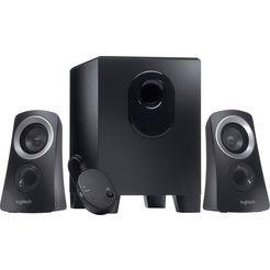 logitech »speaker system z313« 2.1-geluidssysteem zwart