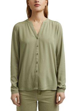 esprit blouse met lange mouwen groen
