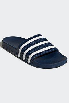 adidas originals badslippers »adilette« blauw