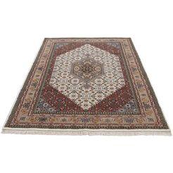 woven arts oosters tapijt bidjar met de hand geknoopt, woonkamer, zuivere wol beige