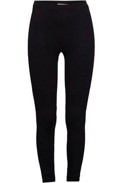 edc by esprit legging van zachte jersey zwart