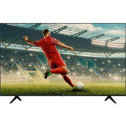 "hisense led-tv 55ae7010f, 139 cm - 55 "", 4k ultra hd, smart-tv, 4k ultra hd zwart"