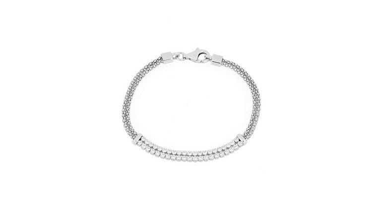 Firetti armband met zirkoon (synthetisch)