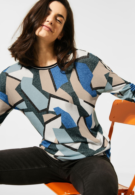 Cecil shirt met ronde hals met afhangende schouders veilig op otto.nl kopen