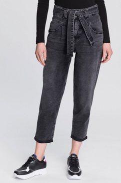herrlicher 7-8 jeans »kabira cropped« grijs