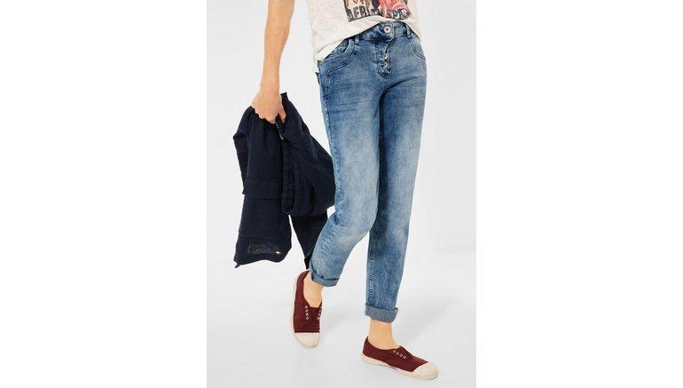 Cecil 7/8 jeans met omslagfunctie