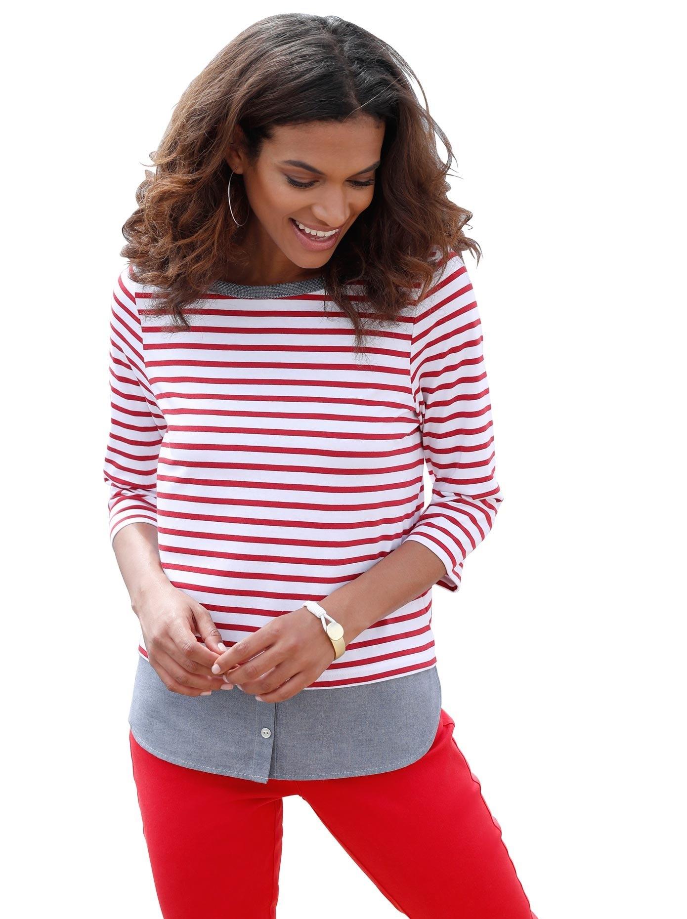 Op zoek naar een Casual Looks shirt in 2-in-1-look? Koop online bij OTTO