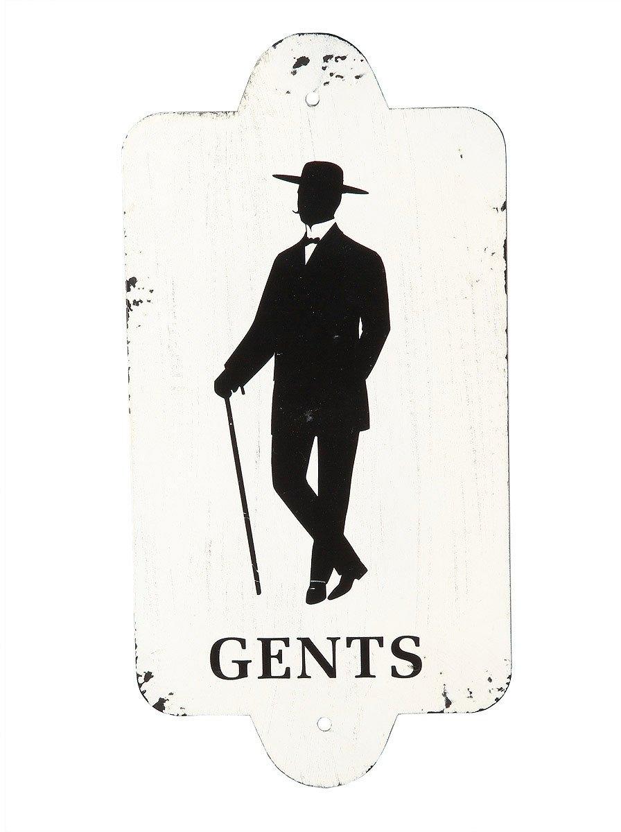 Ambiente Haus Metalen artprint - Gentlemen 28x14cm (1 stuk) online kopen op otto.nl