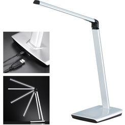 fischer  honsel led-tafellamp »bragi« zilver