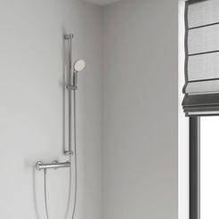 grohe thermostaatkraan »grohtherm 800« zilver