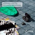 sony wireless in-ear-hoofdtelefoon wf-xb700 headset met microfoon zwart