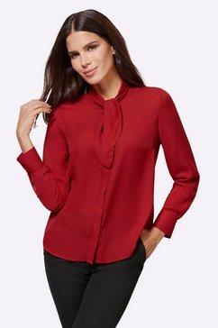ashley brooke by heine blouse met kraagstrik rood