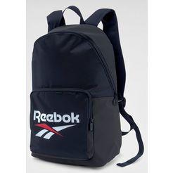 reebok classic »cl fo backpack« sportrugzak blauw
