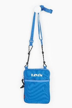 levi's mini-bag »mini crossbody« blauw