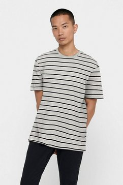 only  sons t-shirt »mel life stripe tee«