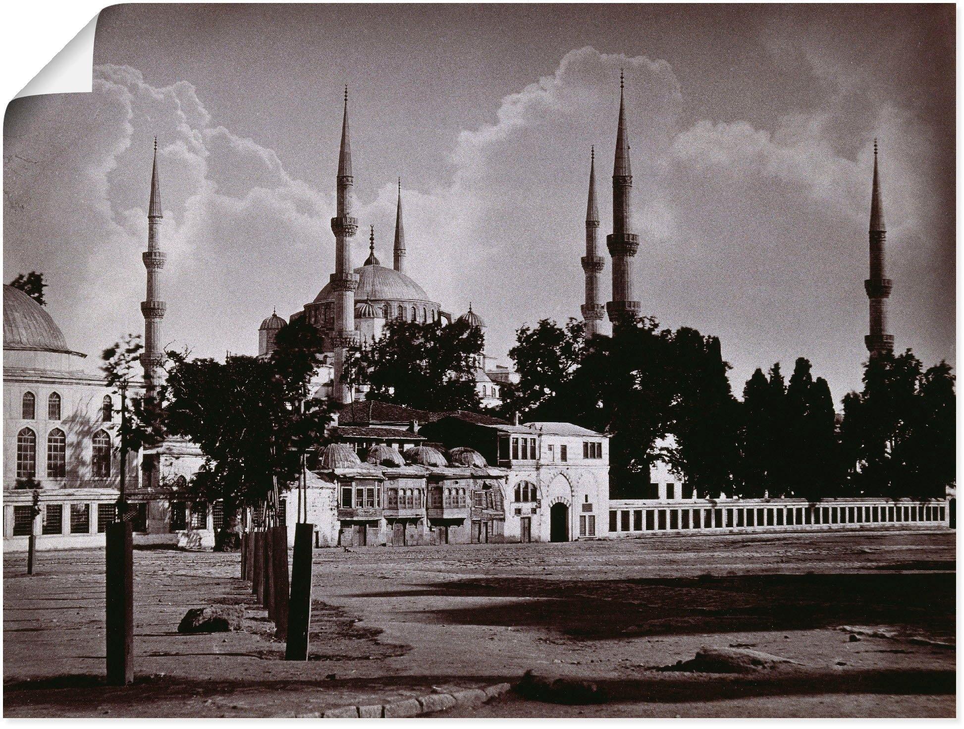Artland artprint Constantinopel: Moskee Sultan Ahmed I. in vele afmetingen & productsoorten -artprint op linnen, poster, muursticker / wandfolie ook geschikt voor de badkamer (1 stuk) in de webshop van OTTO kopen