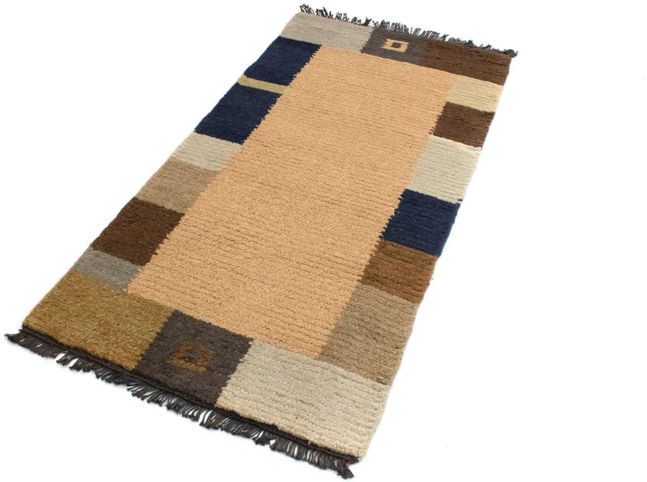 morgenland wollen kleed Nepal Teppich handgeknüpft braun handgeknoopt nu online kopen bij OTTO