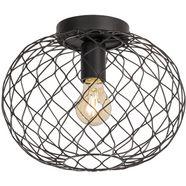 fischer  honsel plafondlamp »justin« zwart