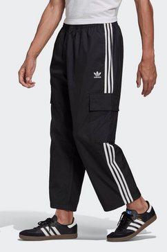 adidas originals cargobroek 3-stripes cargo zwart