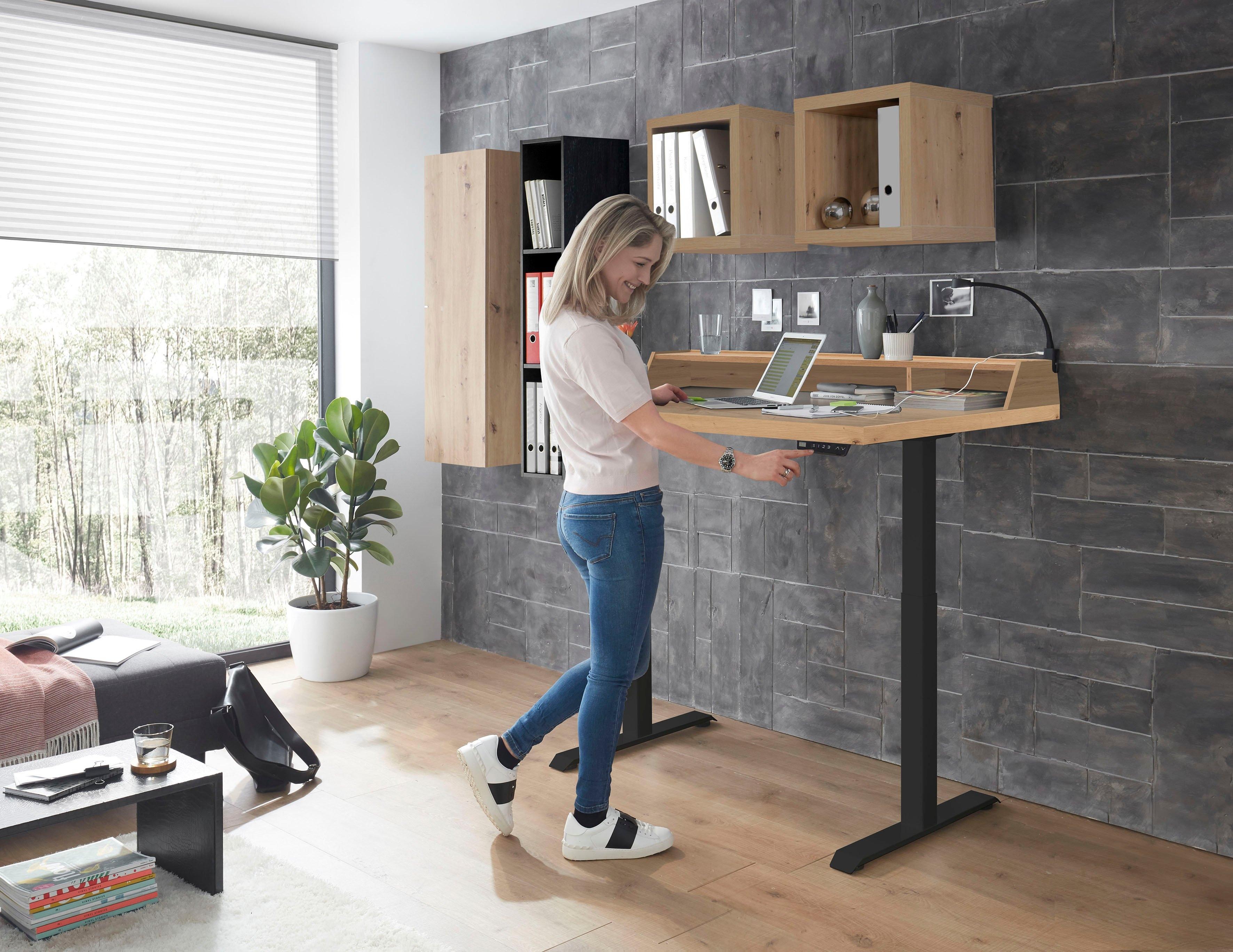 bureau Big System Office Breedte 120 cm, elektrisch in hoogte verstelbaar nu online bestellen