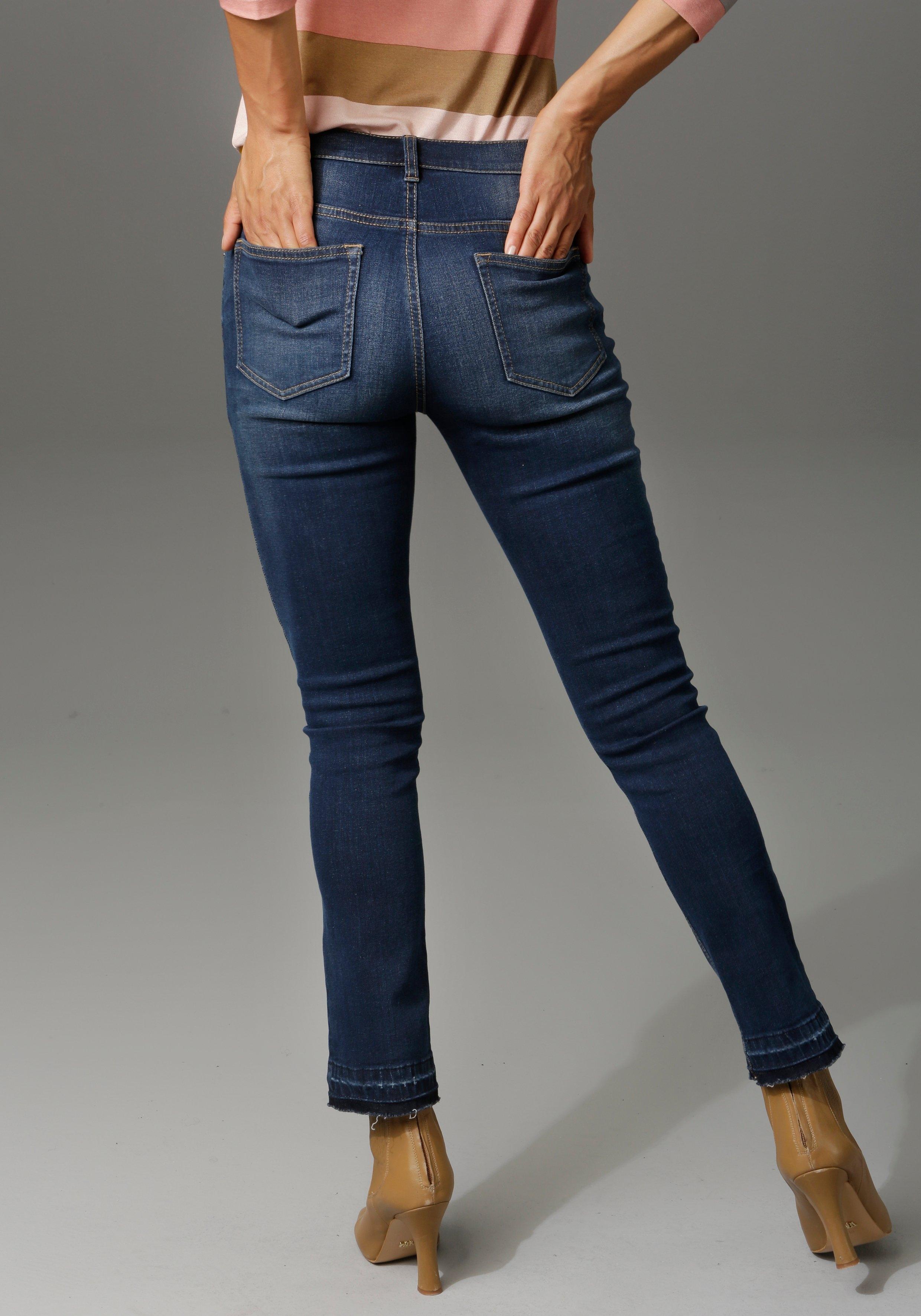 Aniston CASUAL bootcut jeans goedkoop op otto.nl kopen