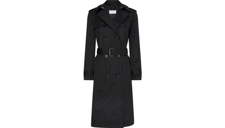 Calvin Klein trenchcoat »COTTON NYLON TRENCH COAT«