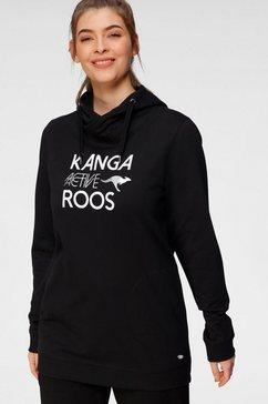 kangaroos sweatshirt zwart