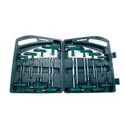 brueder mannesmann werkzeuge schroevendraaier 16-delig (set) groen
