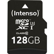 intenso »microsd karte uhs-i professional« geheugenkaart zwart