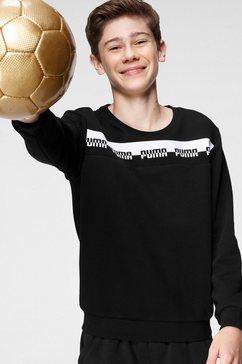 puma sweatshirt »amplified crew tr b« zwart