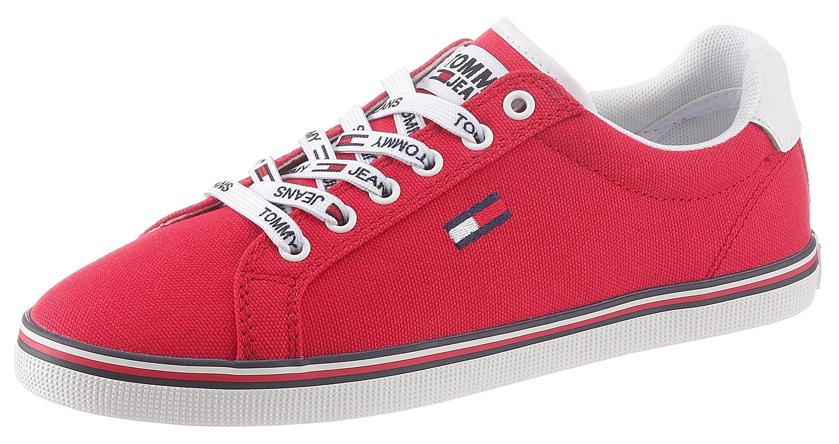 TOMMY JEANS sneakers ESSENTIAL LACE UP SNEAKER met logo-embleem bestellen: 30 dagen bedenktijd