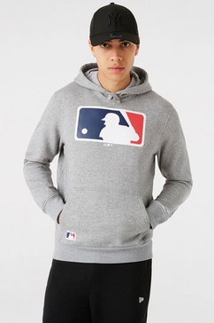 new era hoodie mlb generic logo grijs