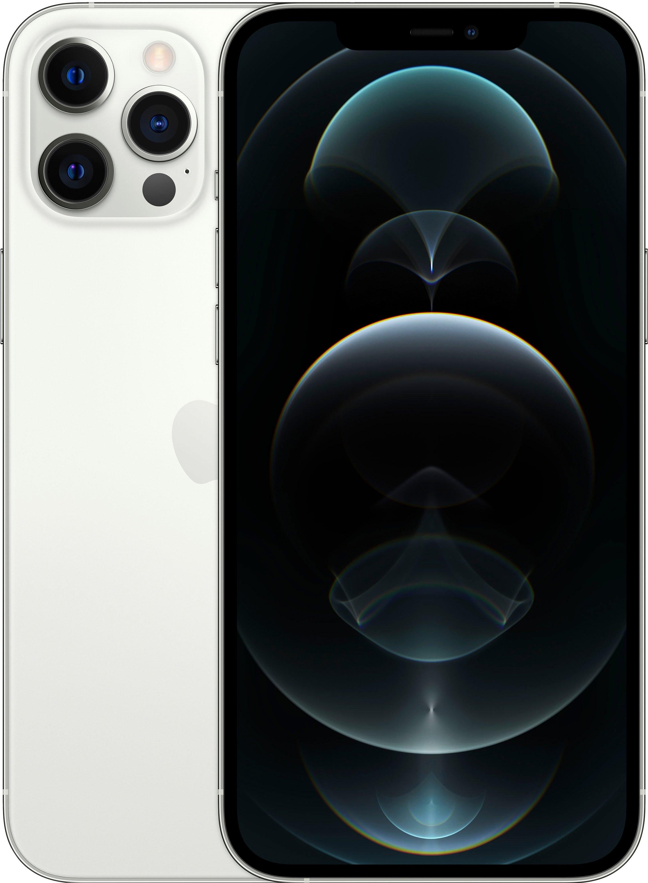 Apple smartphone IPhone 12 Pro Max - 512GB, 512 GB, zonder stroom-adapter en hoofdtelefoon, compatibel met airpods, airpods pro, earpods hoofdtelefoon bij OTTO online kopen