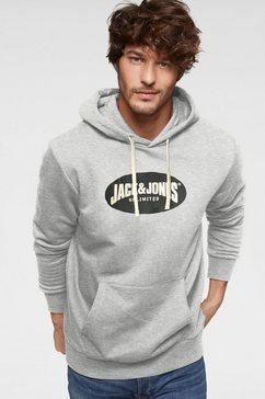 jack  jones hoodie »30 history sweat hood« grijs