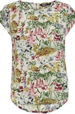 only carmakoma klassieke blouse carvica met ronde halslijn wit