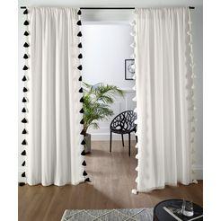 couch ♥ gordijn kwastjes, droom couch favoriete stukken (1 stuk) wit