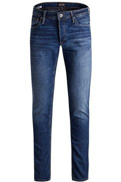 jack  jones junior stretch jeans »jjiglenn jjoriginal am 8« blauw