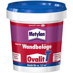 metylan behanglijm ovalit t 750 g emmer, voor textielbehang, metalen behang (set, 1-delig) wit