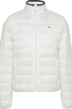tommy jeans gewatteerde jas »tjw quilted zip through« wit