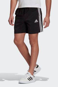 adidas performance trainingsshort aeroready essentials chelsea 3-stripes zwart