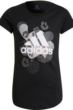 adidas performance t-shirt jg gfx tee 1 zwart